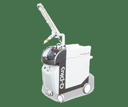 quanta systems q-plus c laser system