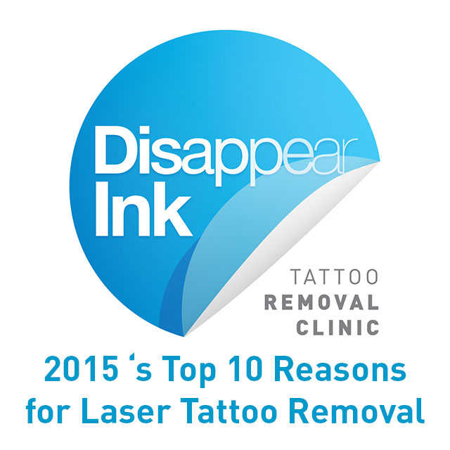 2015's Top 10 Reasons for Laser Tattoo Removal