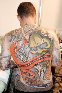 Colour Asian Tattoo